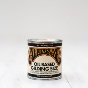 ALPHASYZE GILDING SIZE 8oz