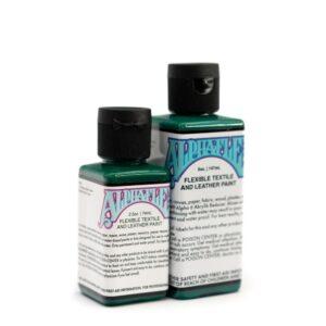 AlphaFlex – DARK GREEN - Flexible textile and leather paint