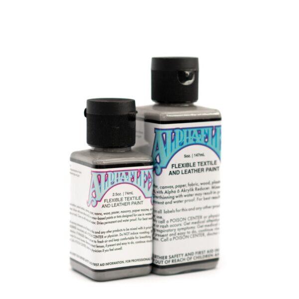 AlphaFlex – MEDIUM GREY - Flexible textile and leather paint